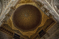 Andalusia, Spain. Andalusia, Alhambra, historical and decorated palace Stock Photography