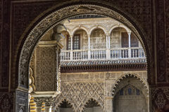 Andalusia, Spain. Andalusia, Alhambra, Spain, historical and decorated palace Royalty Free Stock Photography