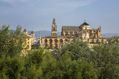 Andalusia, Spain. Andalusia, Alhambra, panorama on the hill Royalty Free Stock Photography