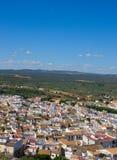 andalusia stadsspain white fotografering för bildbyråer