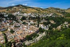 andalusian красивейшее село взгляда granada Испании типичное Стоковая Фотография