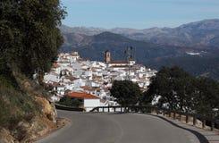 Andalusian Algatocin, Spain Royalty Free Stock Image