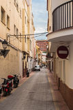 Andalusian Alley. Very typical alley for Andalusia. Follow me on Twitter to see if your travel picture is on focus this week! | The Travel Pictures | About.me | royalty free stock photos