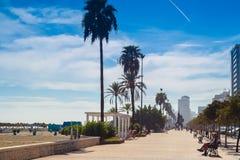 Andalusian Beach Boulevard Stock Image