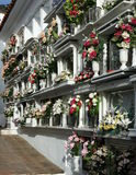 Andalusian Cemetery Royalty Free Stock Photography