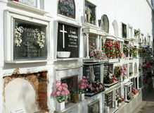 Andalusian Cemetery Stock Image