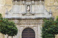 Andalusian church. Typical Andalusian church in Cordoba, Spain Stock Photography