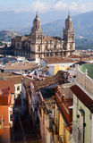Andalusian city with Cathedral. Jaen, Spain Stock Photography
