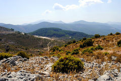 Andalusian countryside. A view of the Andalusian countryside in Spain Royalty Free Stock Image