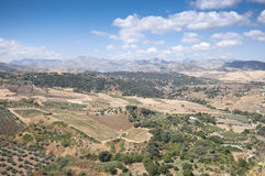 Andalusian countryside Stock Image