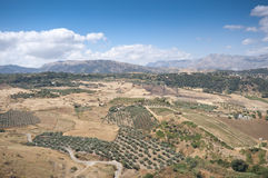 Andalusian countryside Stock Photo