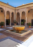 Andalusian courtyard Royalty Free Stock Images