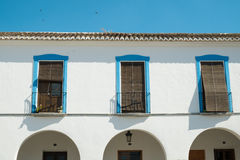 Andalusian facade detail Royalty Free Stock Image