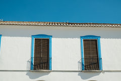 Andalusian facade detail Stock Photo