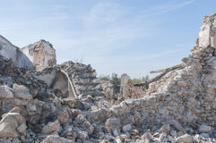 Andalusian farmhouse in ruins Stock Photography