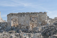 Andalusian farmhouse in ruins Stock Photo