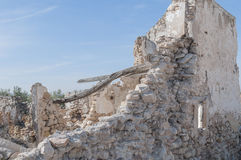 Andalusian farmhouse in ruins Royalty Free Stock Photo