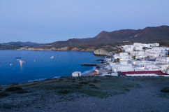 Andalusian fishing village Stock Photo