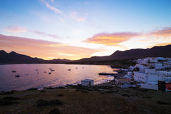 Andalusian fishing village Stock Images
