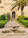 Andalusian Gardens in Rabat, Morocco Royalty Free Stock Photography