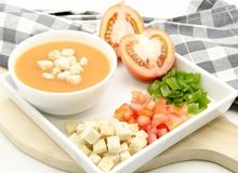 Andalusian Gazpacho Stock Photo