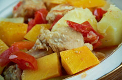 Andalusian Gypsy Stew Stock Photography