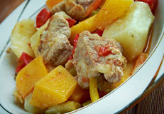 Andalusian Gypsy Stew Stock Photo