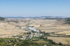 Andalusian landskap, Spanien royaltyfria foton