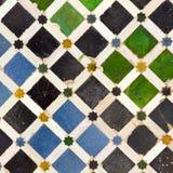 andalusian mosaik typiska spain Arkivfoto