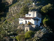 Andalusian Mountain Home Stock Images