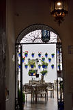 Andalusian patio. Entrance to an Andalusian patio Royalty Free Stock Photos