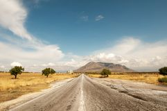 Andalusian road Royalty Free Stock Photography