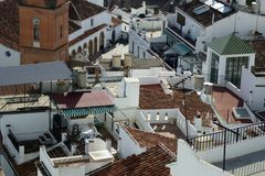 Andalusian Rooftops Royalty Free Stock Photography