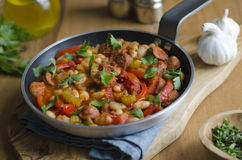 Andalusian stew Royalty Free Stock Images