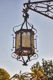 Andalusian style lantern Stock Image