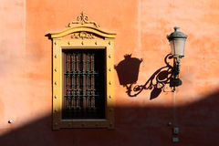 Andalusian style window in Granada Stock Photo