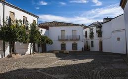Andalusian típico quadrado Imagem de Stock Royalty Free