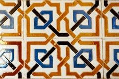 Andalusian tegelplatta Fotografering för Bildbyråer
