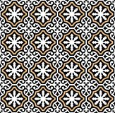 Andalusian tiles pattern style vector illustration