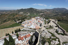 Andalusian town Olvera, Spain Stock Image