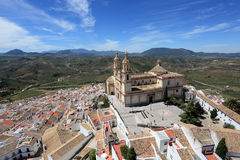 Andalusian town Olvera, Spain Stock Photo