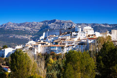 Andalusian town in winter day. Quesada Royalty Free Stock Photos