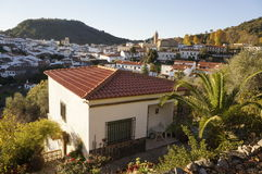 Andalusian village Royalty Free Stock Images