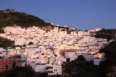Andalusian village Casares Royalty Free Stock Photos