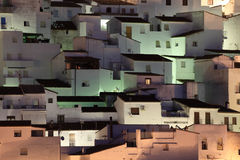 Andalusian village Casares Royalty Free Stock Images