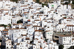 Andalusian village Casares Royalty Free Stock Photography