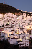 Andalusian village Casares Stock Photos
