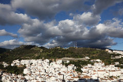Andalusian village Casares Stock Photography