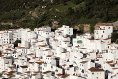 Andalusian village Casares Stock Image