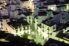 Andalusian village Casares Stock Images